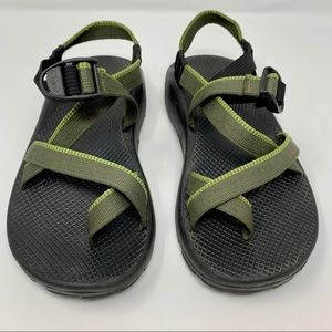 MENS CHACO GREEN OUTDOOR HIKING STRAPPY SANDAL